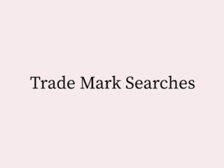Trade Mark Searches